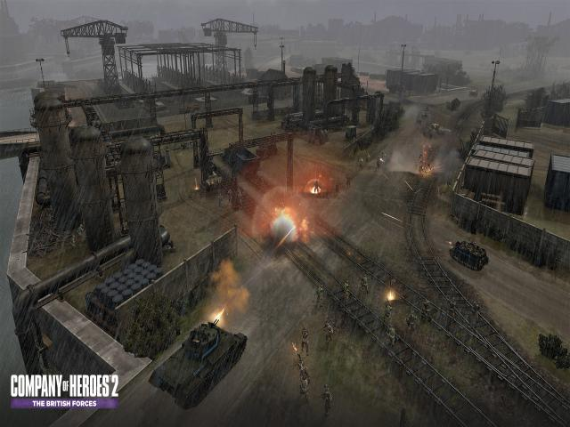 Company of Heroes 2 - The British Forces - title cover