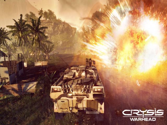 Crysis Warhead - title cover