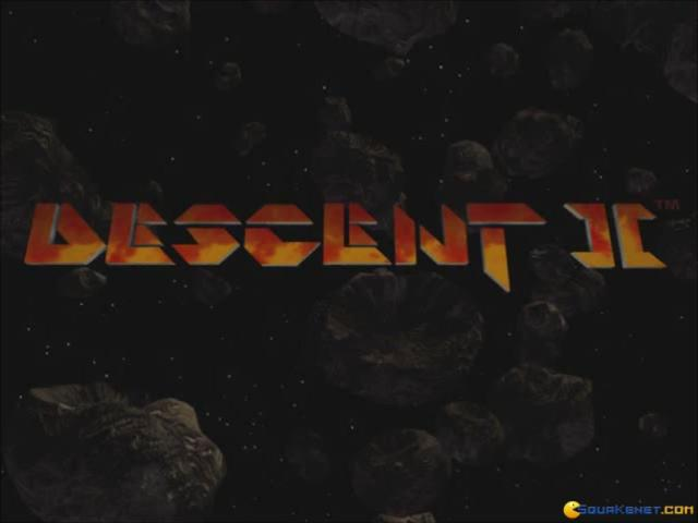 Descent 2 - title cover