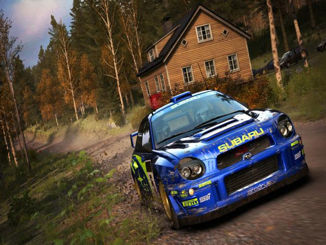 DiRT Rally - title cover