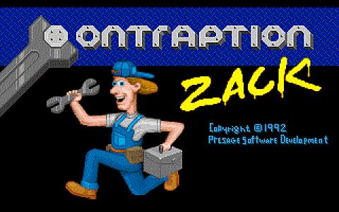 Contraption Zack - title cover