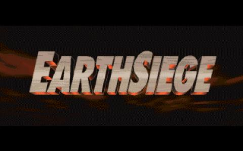Metaltech: Earthsiege - title cover