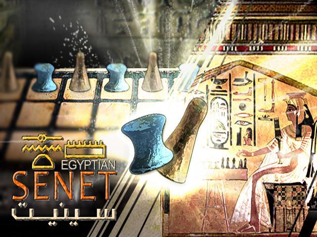 Egyptian Senet - title cover