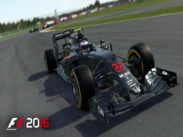 F1 2016 - title cover