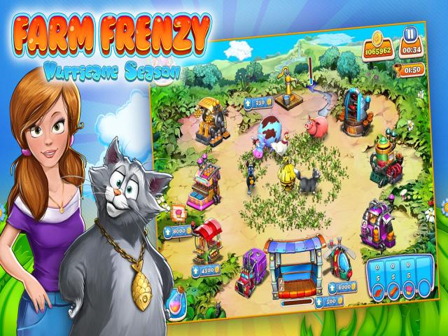Farm Frenzy: Hurricane Season - game cover
