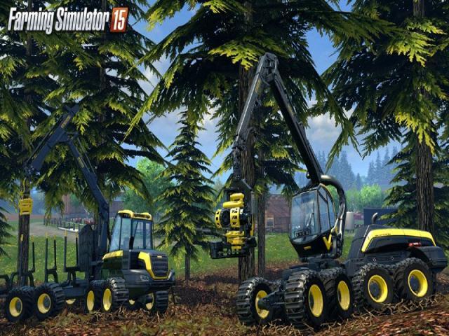 Farming Simulator 15 - title cover