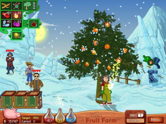 Flora's Fruit Farm - title cover