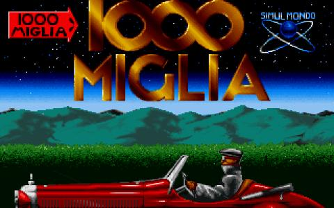 1000 Miglia - title cover