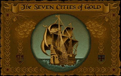 7 Cities of Gold - game cover