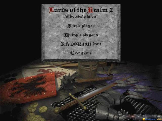 Lords of the Realm 2 - game cover