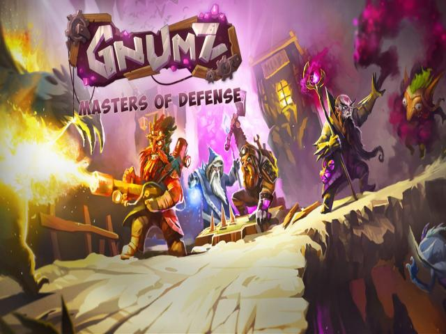 Gnumz: Masters of Defense - title cover