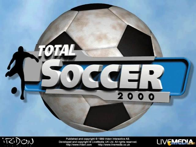 Total Soccer 2000 - title cover