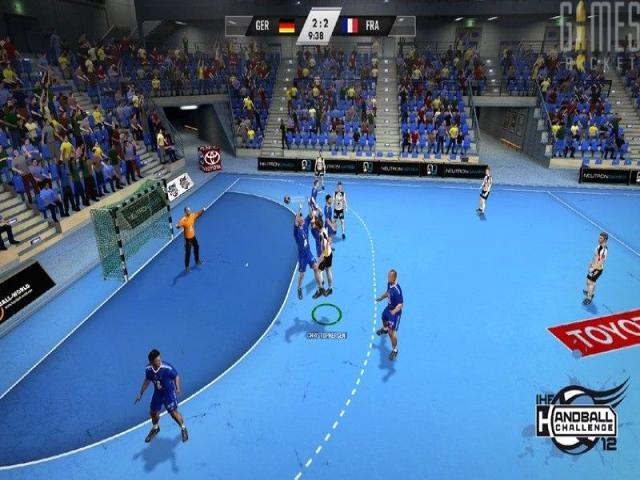 IHF Handball Challenge 12 - game cover