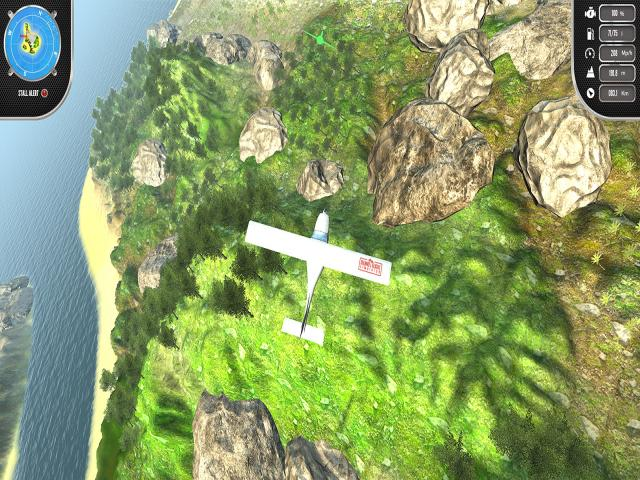 Island Flight Simulator - title cover