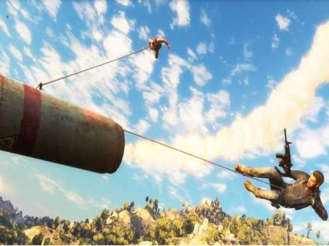 Just Cause 3 - title cover
