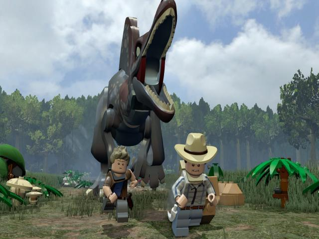 LEGO Jurassic World - title cover