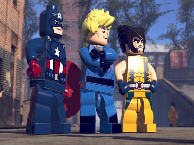 LEGO Marvel Super Heroes - title cover