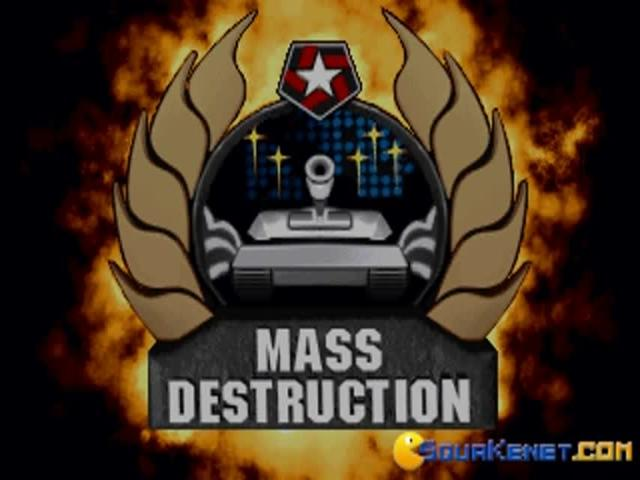 Mass Destruction - title cover
