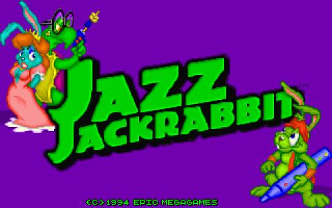 Jazz Jackrabbit - title cover