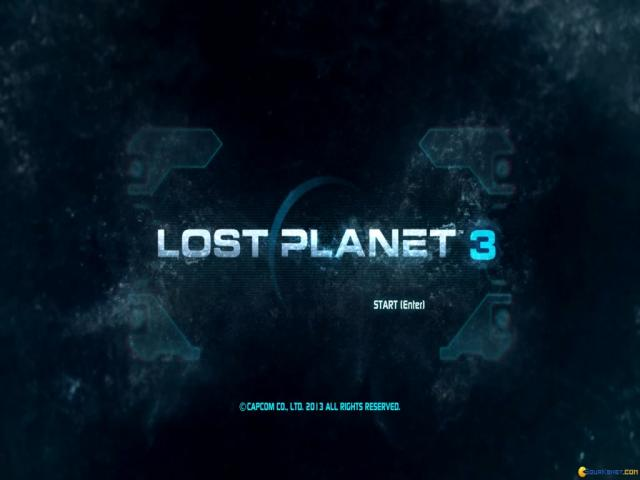 Lost Planet 3 - title cover
