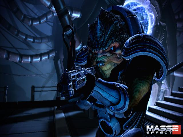 Mass Effect 2 - title cover