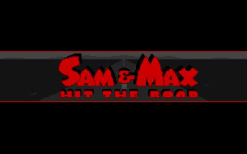 Sam & Max Hit the Road - title cover