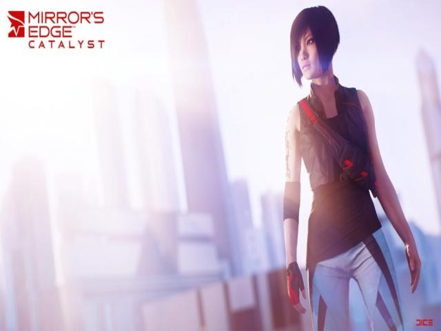 Mirror's Edge Catalyst - title cover