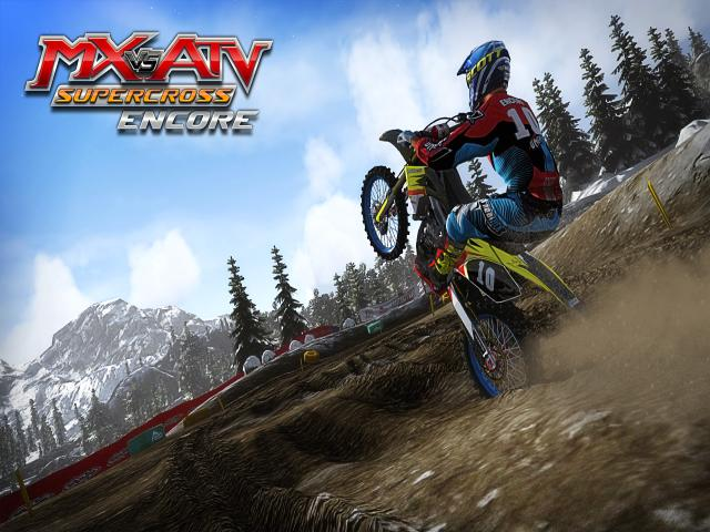 MX vs. ATV Supercross Encore - game cover