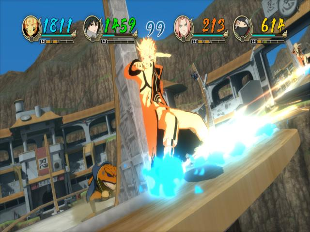 Naruto Shippuden: Ultimate Ninja Storm Revolution - title cover