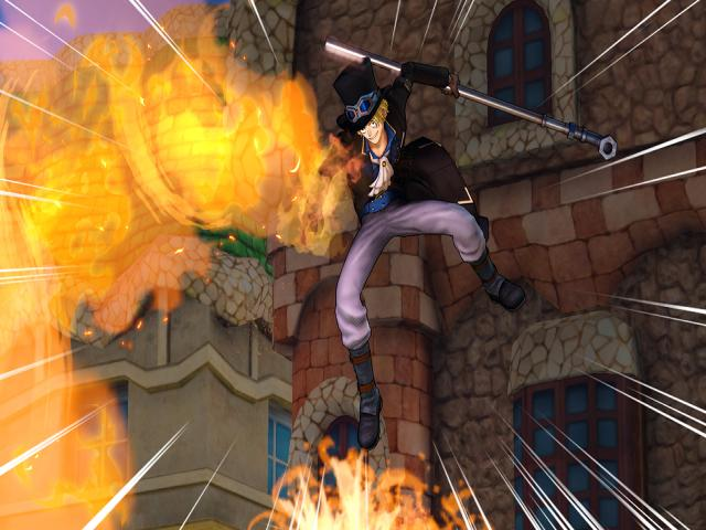 One Piece Pirate Warriors 3 - title cover