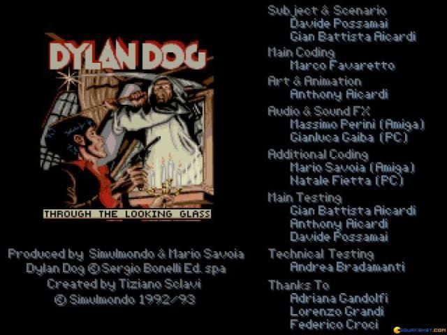 Dylan Dog - 02 - Attraverso lo Specchio - game cover
