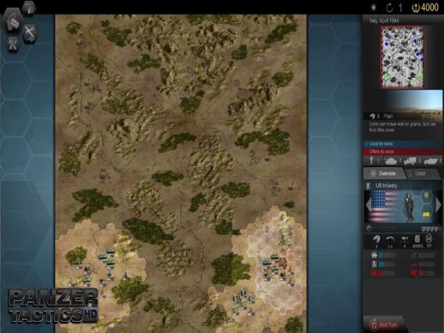 Panzer Tactics HD - title cover