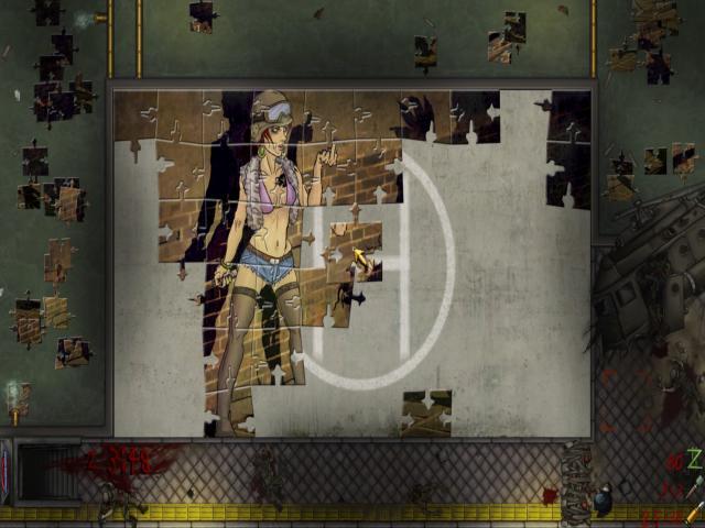 Pixel Puzzles: UndeadZ - title cover