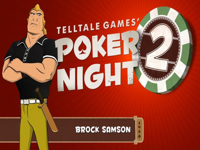 Poker Night 2 - title cover