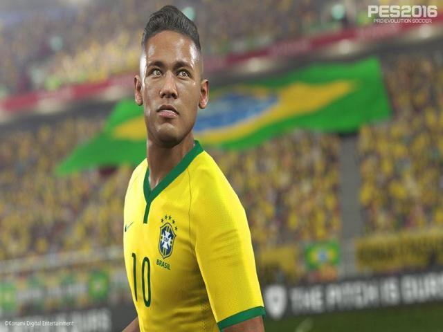 Pro Evolution Soccer 2016 - title cover