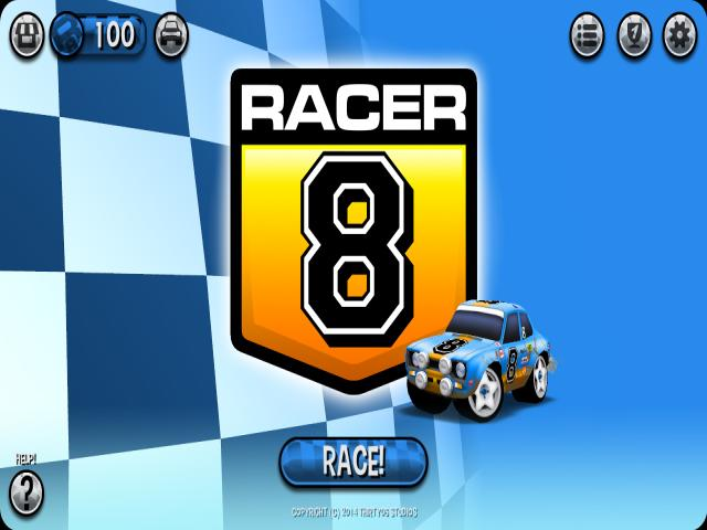 Racer 8 - title cover