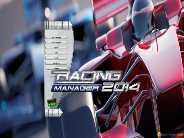 Racing Manager 2014 - title cover