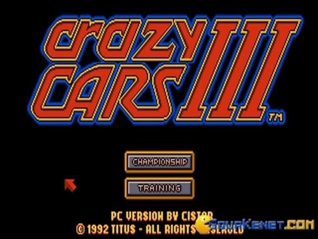 Crazy Cars 3 - title cover