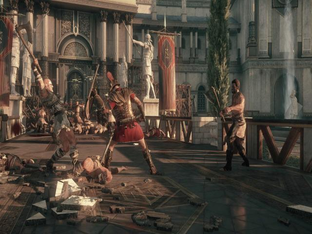 Ryse: Son of Rome - title cover