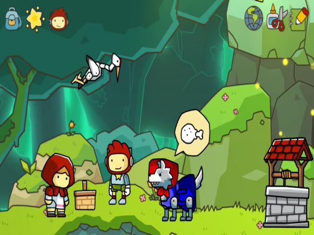 Scribblenauts Unlimited - title cover