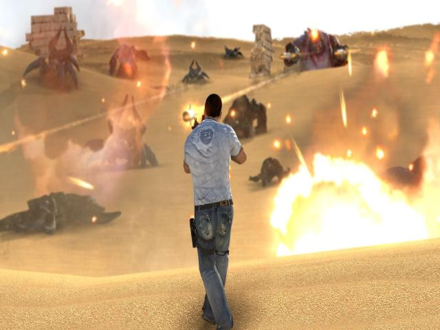 Serious Sam 3: BFE - title cover