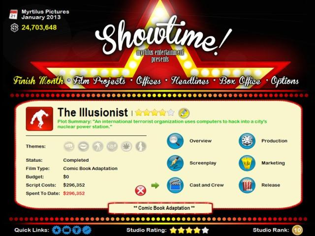 Showtime! - title cover