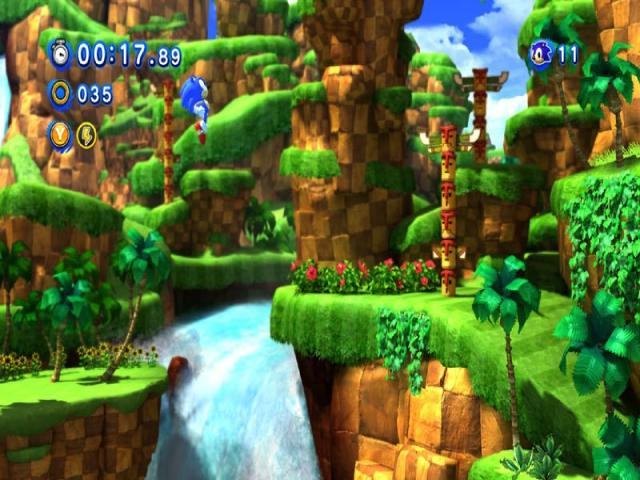 Sonic Generations - title cover