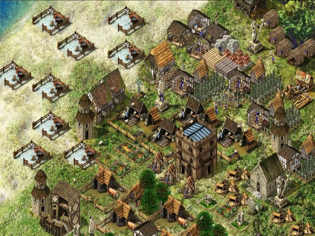 FireFly Studios' Stronghold Warchest 2003 pc game Img-4