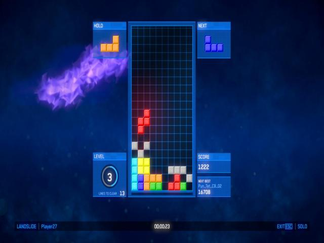 Tetris Ultimate - title cover