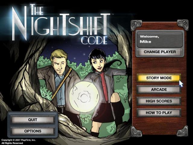 The Nightshift Code - title cover