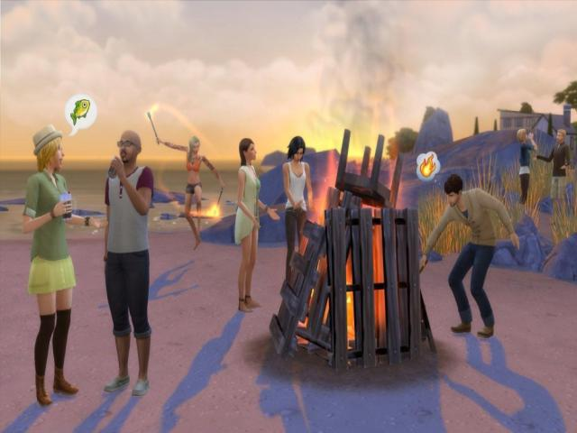 The Sims 4 Get Together - title cover