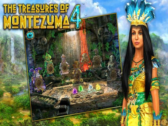 The Treasures of Montezuma 4 - title cover