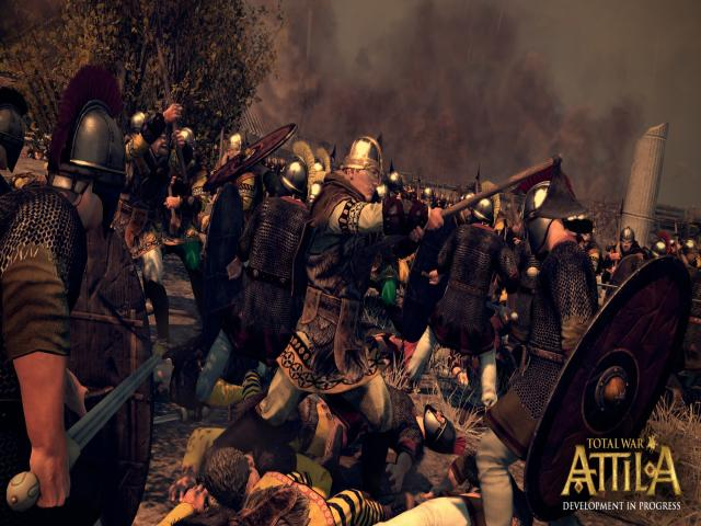 Total War: Attila - title cover