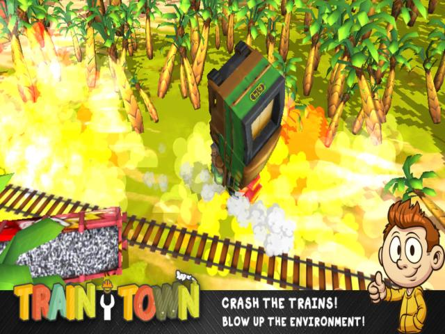 Train Town - title cover